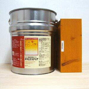 リボス タヤエクステリア 032パイン 自然塗料 10L 高耐候性木材カラーオイル 塗装 木部 DIY