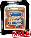 【エコパラダイス】【送料無料】Gillette Fusion5+1ジレット フュージョン 替刃12個入髭剃り 替え刃 4個入りが3パック