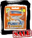 【エコパラダイス】Gillette Fusion5+1 POWERジレット フュージョン パワー 替刃8個入