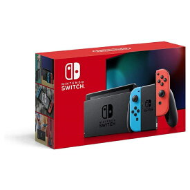 【中古美品】Nintendo Switch JOY-CON(L) ネオンブルー/(R) ネオンレッド