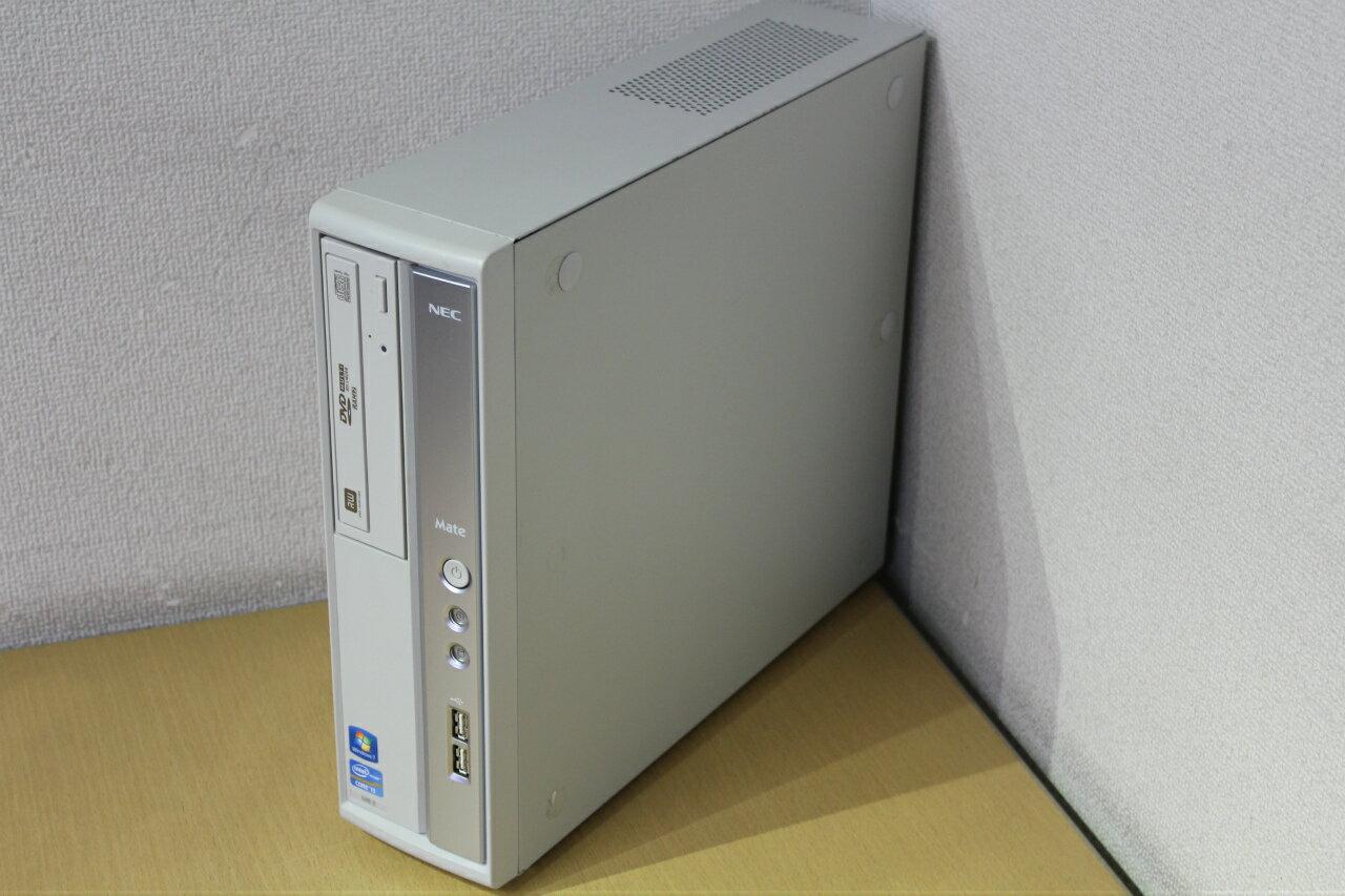 【中古】Windows7Pro!Corei3 3.3Gでメモリ2Gまで増設済みでサクサク!♪DVDマルチ搭載でDVD書き込みOK!HDD250G!デスクトップパソコン!NEC PC-MK33L/B-E『CD書込』『DVD書込』『DVD鑑賞』『リカバリ』『Windows7』『お買い得!通常品』