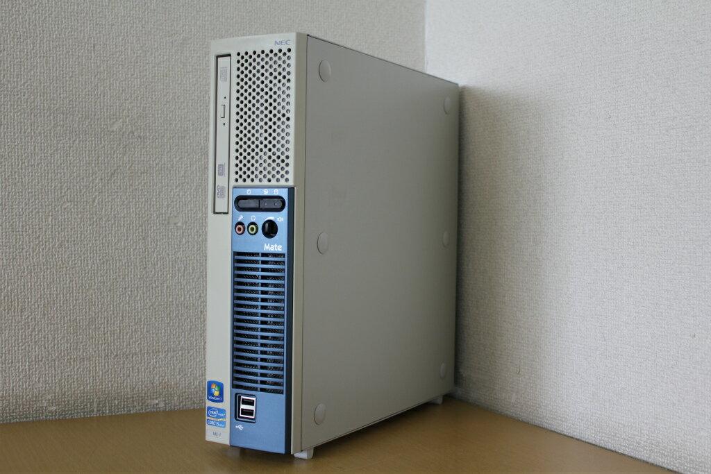 【中古】Windows7Pro!Corei3 550 3.2Gでサクサク!♪DVD搭載でDVD読み込みOK!HDD160G!デスクトップパソコン!NEC PC-MK32LEZCB『リカバリ』『DVD鑑賞』『Windows7』『お買い得!通常品』