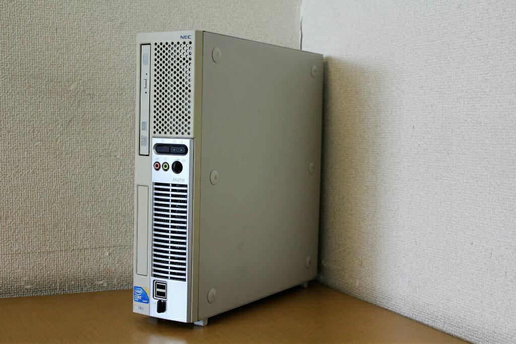 【中古】Windows7Pro!Corei5 660 3.3Gでサクサク!♪DVDマルチ搭載でDVD書き込みOK!HDD160G!デスクトップパソコン!NEC PC-MK33BEZ7A『CD書込』『DVD書込』『DVD鑑賞』『リカバリ』『Windows7』『お買い得!通常品』