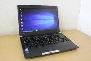【中古】【Windows10Pro搭載】ワイド液晶で画面も広々!第4世代Corei34000M搭載♪メモリ4G!HDD320G搭載!DVD書き込みも出来るDVDマルチドライブ!東芝DynabookR734/K『無線LAN搭載』『CD書込』『DVD書込』『DVD鑑賞』『リカバリ』『Windows10』『お買い得!通常品』