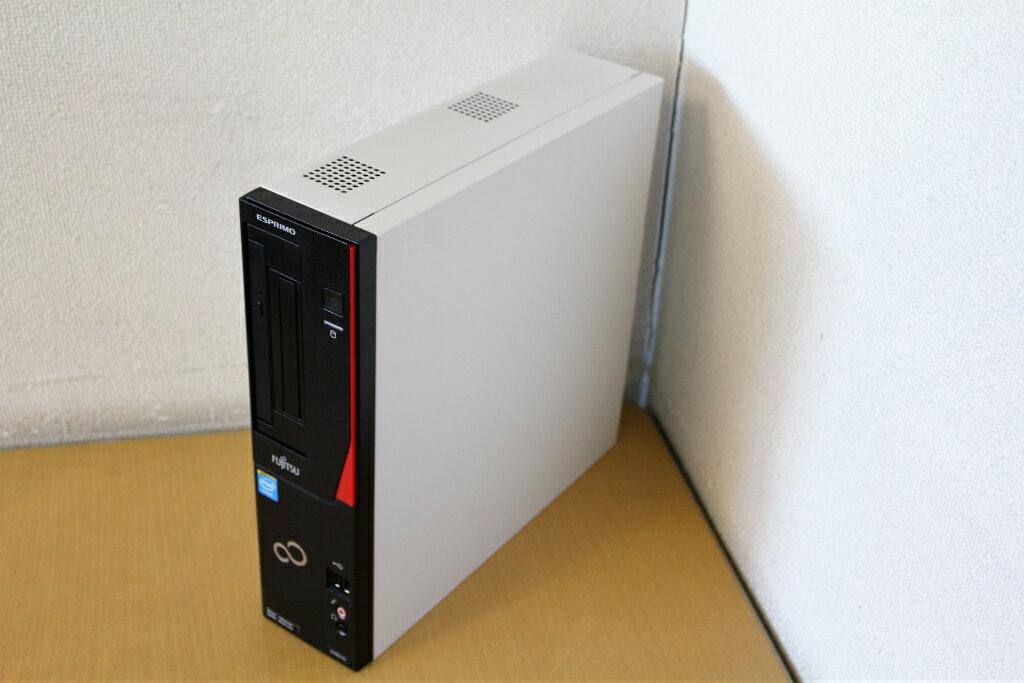 【中古】Windows7Pro!CeleronG1610&メモリ4Gでサクサク!♪DVD搭載でDVD読み込みOK!HDD250G!デスクトップパソコン!富士通/FMV-D582『DVD鑑賞』『リカバリ』『Windows7』『お買い得!通常品』