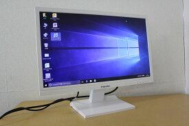 【送料無料】【中古】解像度1920x1080!21.5インチ白色LEDバックライトワイド液晶モニター! HDMI&アナログの2系統入力搭載!ホワイトボディなのでどんなパソコンにでもばっちり!!PRINCETON PTFWKF-22W『お買い得!通常品』