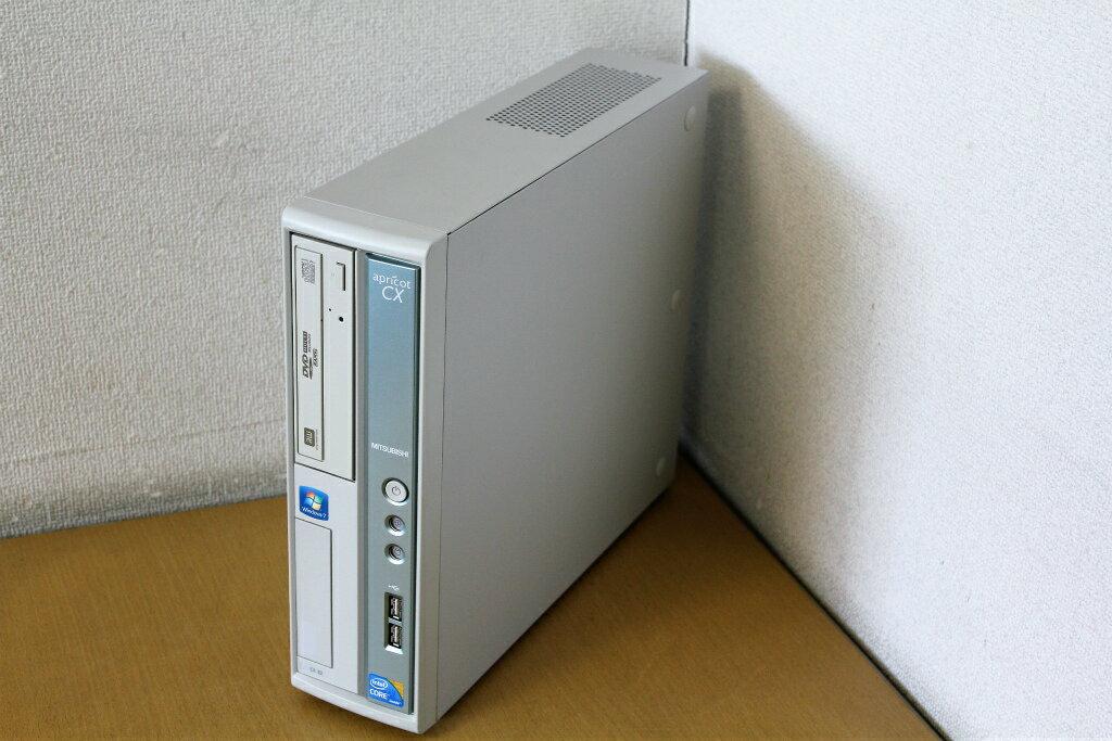 【Winodows10搭載】【中古】Corei3 550(3.2G)搭載♪DVD鑑賞や書き込みも出来るDVDマルチドライブ搭載!メモリ4G搭載!HDD250Gの使えるデスクトップパソコン!三菱 Apricot CXB2『DVD鑑賞』『Windows10』『お買い得!通常品』