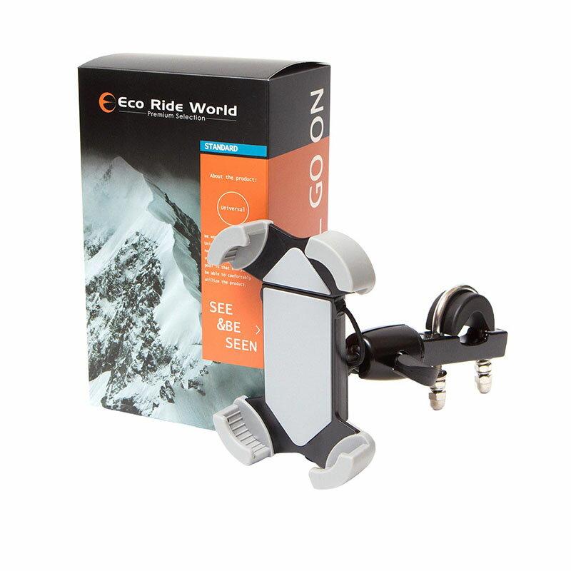 送料無料 車載ホルダー スマホホルダー バイク 自転車 タブレットホルダー スマートフォン バー マウント スマホ ホルダー iPhone 7 plus 6s 6 6plus SE Nexus Galaxy xperia 対応 Eco Ride World