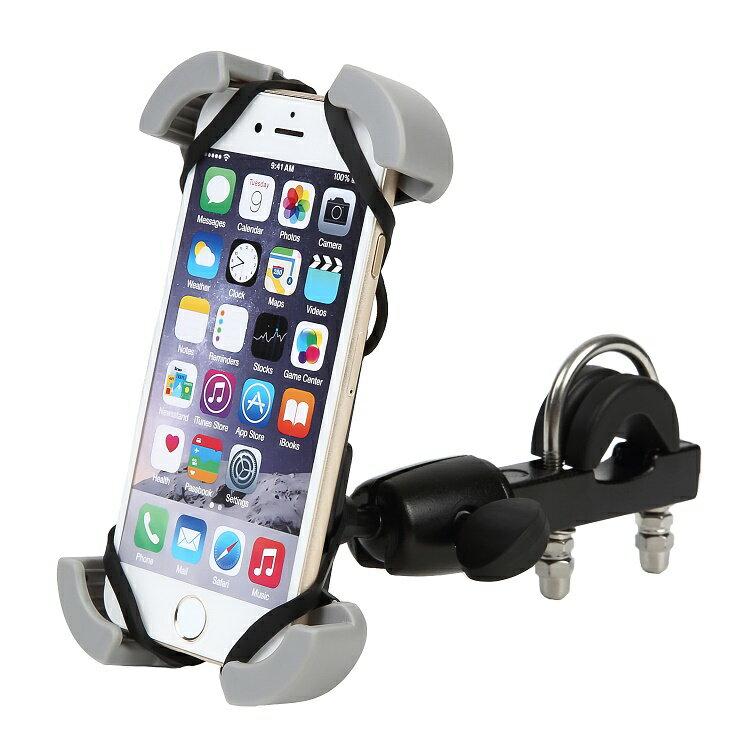 残りわずか!★送料無料★スマホホルダー 車載ホルダー バイク 自転車 スマートフォン バー マウント スマホ ホルダー iPhone 7 plus 6s 6 6plus SE Nexus Galaxy xperia 対応