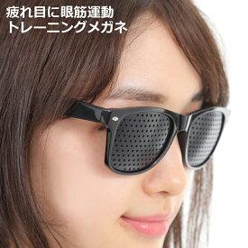 ピンホールメガネ リフレッシュ 動体視力 視力トレーニング 鍛える メガネ 眼筋運動 遠近 兼用 リフレッシュ ウェイファーラー タイプ Eco Ride World