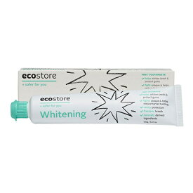 エコストア ecostore トゥースペースト<ホワイトニング> 100g ナチュラル 歯磨き粉 オーラルケア