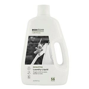 エコストア ecostore ランドリーリキッド ユーカリ 2L ナチュラル 洗剤 マスク
