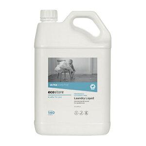 エコストア ecostore ランドリーリキッド 無香料 5L 敏感肌 マスク 洗剤