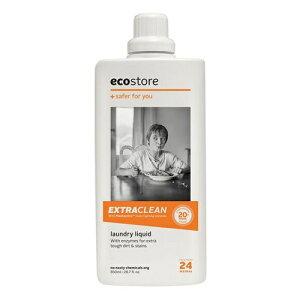エコストア ecostore エクストラクリーン ランドリーリキッド 850mL 洗たく用洗剤 液体 高洗浄力 ナチュラル
