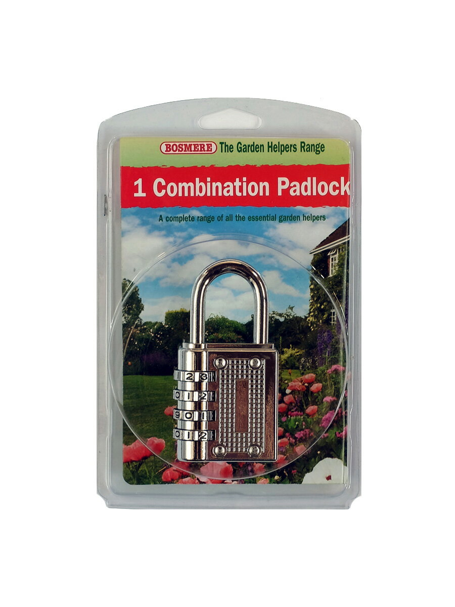 BOSMERE   H957 Combination Padlock ダイアル式南京錠   ボスミア