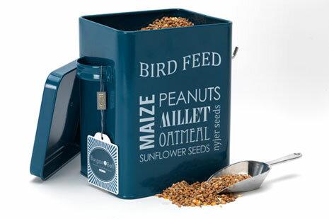 Burgon & Ball | GYO/BIRDBLUE-BIRDCREAM BIRD FEED TIN | バーゴン&ボール