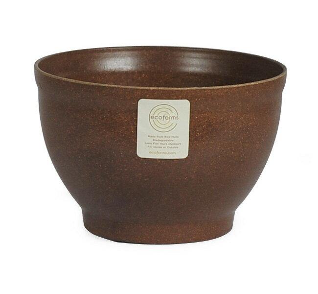 ecoforms | フッティッドボウル6 Footed Bowl 6 | 植木鉢 5.5号 | エコフォームズ