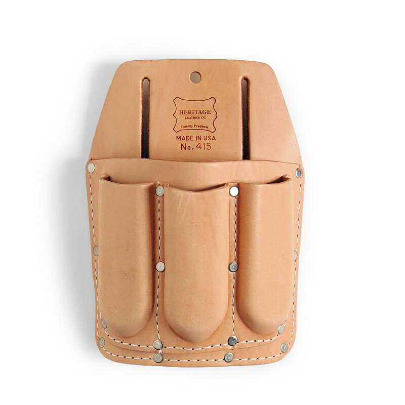 Heritage Leather | 415 4-Pocket Utility Tool Pouch | ヘリテージレザー ツールポーチ