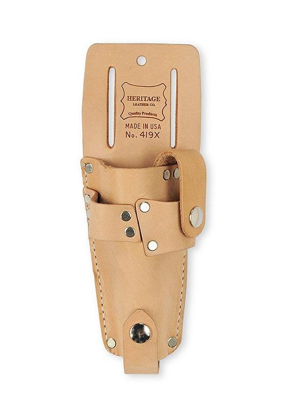 Heritage Leather | 419x ガーデナー剪定鋏ツールホルダー GARDENER'S COMBINATION TOOL HOLDER | ヘリテージレザー