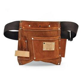 【腰袋 アメリカ 革 大工 小物入れ ツールポーチ】5PKT NAIL & TOOL POUCH 495 / Heritage Leather (ヘリテージレザー)