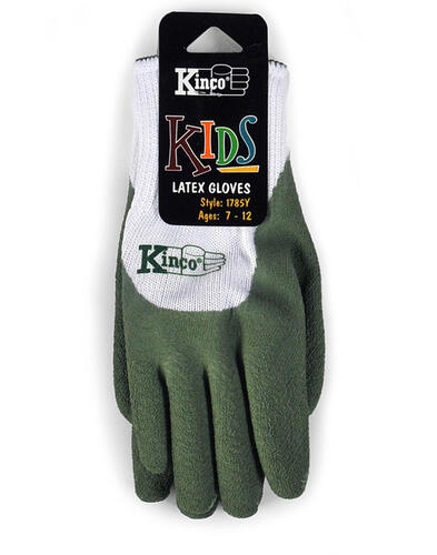 Kinco Gloves | 1785C / 1785Y LATEX DIPPED GLOVE Size:KIDS | キンコグローブ【クロネコDM便可】