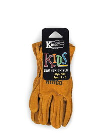 Kinco Gloves   50C / 50Y COWHIDE DRIVERS GLOVE Size:KIDS   キンコグローブ【ネコポス可】