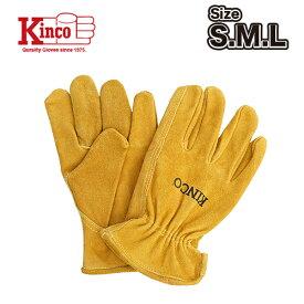 KINCOステッカープレゼント【Kinco Gloves / キンコ グローブ】 #50 COWHIDE DRIVERS GLOVE S/M/L【発送方法ネコポス】