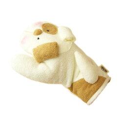 鍋つかみイヌ日本製ぬいぐるみタイプかわいいふわふわハンドメイドパイル地なべつかみキッチンミトンいぬ犬アニマル1個ならネコポスOK