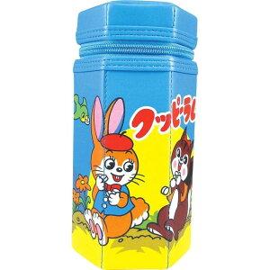 お菓子シリーズ 六角 ペンポーチ クッピーラムネ 駄菓子 ペンケース 昭和 レトロ 昔懐かしい かわいい 筆入れ 筆箱