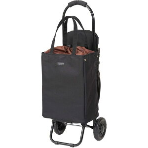 ショッピングカート 折りたたみ 椅子付き 保冷 保温 ブレイク ブラック COCORO ココロ トートバッグ付き 22L チェアカート 座れる マイバッグ マイカート エコバッグ