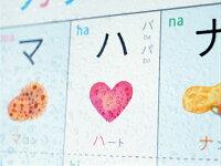 アンシャンテのカタカナひょう【KATAKANACHART】A3・角丸・防水