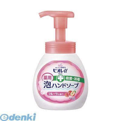 花王(Kao)[4901301289438] ビオレu泡ハンドソープフルーツの香りポンプ【1個】