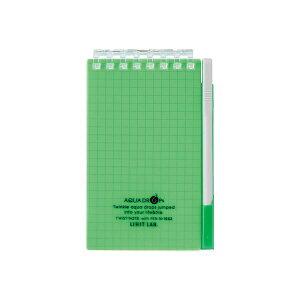 リヒトラブ LIHIT LAB. N1662-6 ツイストノート with ペン【メモサイズ】 N16626