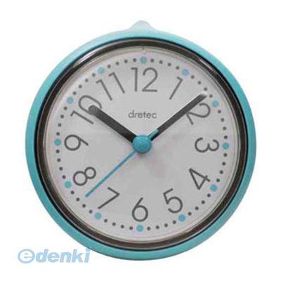 【個数:1個】「直送」【代引不可・同梱不可】[C-110BL] DRETEC おふろクロック スパタイム かわいいフォルムの防滴時計
