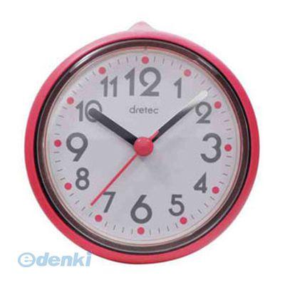 【個数:1個】「直送」【代引不可・同梱不可】[C-110PK2] DRETEC おふろクロック スパタイム かわいいフォルムの防滴時計