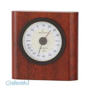 【ポイント2倍】【個数:1個】 直送 代引不可・同梱不可 TM-646 EMPEX 温度・湿度計 イートン 温度・湿度計 置用 ウォルナット エンペックス ウオルナット色 温湿度計 温度湿度計