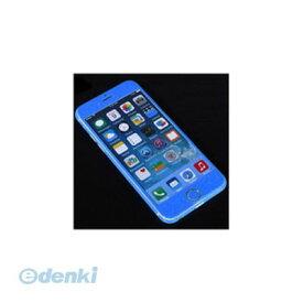 【個数:1個】「直送」【代引不可・同梱不可】[YT-3DSKIN-BL/IP6] ITPROTECH 全面保護スキンシール for iPhone6/ブルー