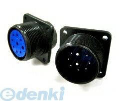 DDK(第一電子工業) [D/MS3102A36-5S] MIL-DTL-5015 MSタイプ丸形コネクタ D/MS3102A36シリーズ (5個入) D/MS3102A365S