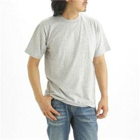直送・代引不可5枚セット Tシャツ 杢 グレー×5枚 L別商品の同時注文不可