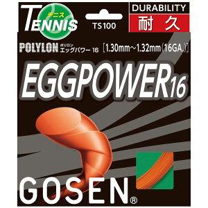 直送・代引不可 GOSEN(ゴーセン) エッグパワー16 TS100OR 別商品の同時注文不可