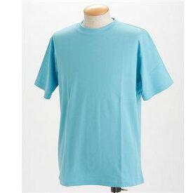 直送・代引不可ドライメッシュTシャツ 2枚セット 白+サックス Lサイズ別商品の同時注文不可