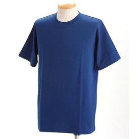 直送・代引不可ドライメッシュTシャツ 2枚セット 白+ロイヤル Mサイズ別商品の同時注文不可