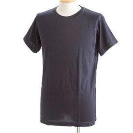 直送・代引不可J. S.D.F.(自衛隊)採用吸汗速乾半袖 Tシャツ2枚 SET L ネイビー別商品の同時注文不可