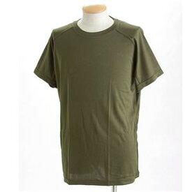 直送・代引不可J. S.D.F.(自衛隊)採用吸汗速乾半袖 Tシャツ2枚 SET L オリーブ別商品の同時注文不可