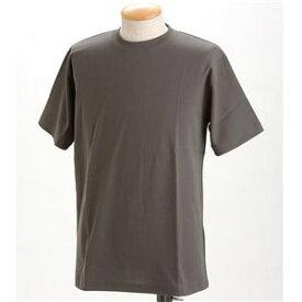 直送・代引不可ドライメッシュTシャツ 2枚セット 白+ダークグレー Lサイズ別商品の同時注文不可