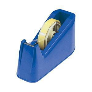 直送・代引不可 (業務用セット) テープカッター ブルー 【×10セット】 別商品の同時注文不可