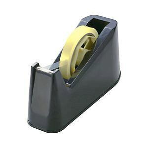 直送・代引不可 (業務用セット) テープカッター ブラック 【×10セット】 別商品の同時注文不可