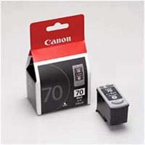 直送・代引不可 (業務用セット) キヤノン Canon インクジェットカートリッジ BC-70 ブラック 1個入 【×2セット】 別商品の同時注文不可