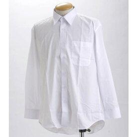 直送・代引不可ブラック & ホワイト 長袖百貨店仕様 Yシャツ OZ517008 Lサイズ 【 2枚セット 】 別商品の同時注文不可