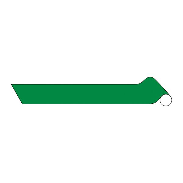直送・代引不可配管識別テープ AH305(中) ■カラー:反射緑 100mm幅【代引不可】別商品の同時注文不可